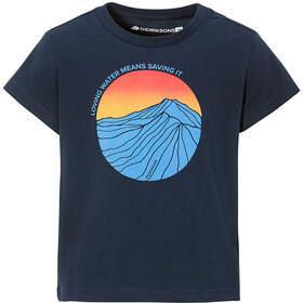 DIDRIKSONS Fröet T-Shirt Kids, blauw